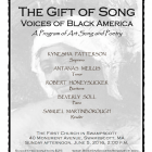 The Gift of Song poster